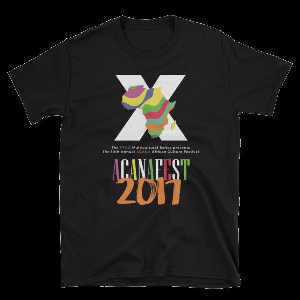 The ACANAFest 10 Year Anniversary Tshirt